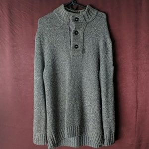 Mock turtle neck sweater